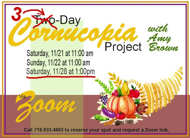 Cornucopia Project Extra Day!