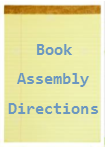 Book Assembly Directions