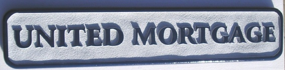 C12230 - Sandblasted United Mortgage Sign