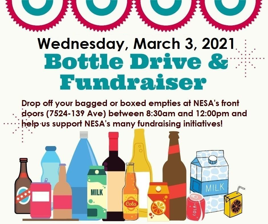 Bottle Drive and Fundraiser