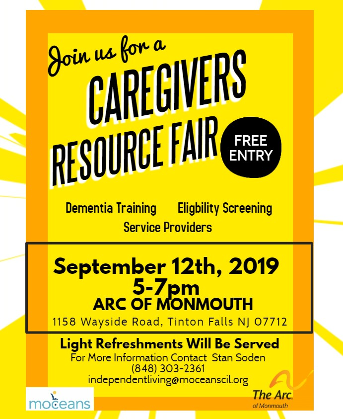 Caregivers Resource Fair