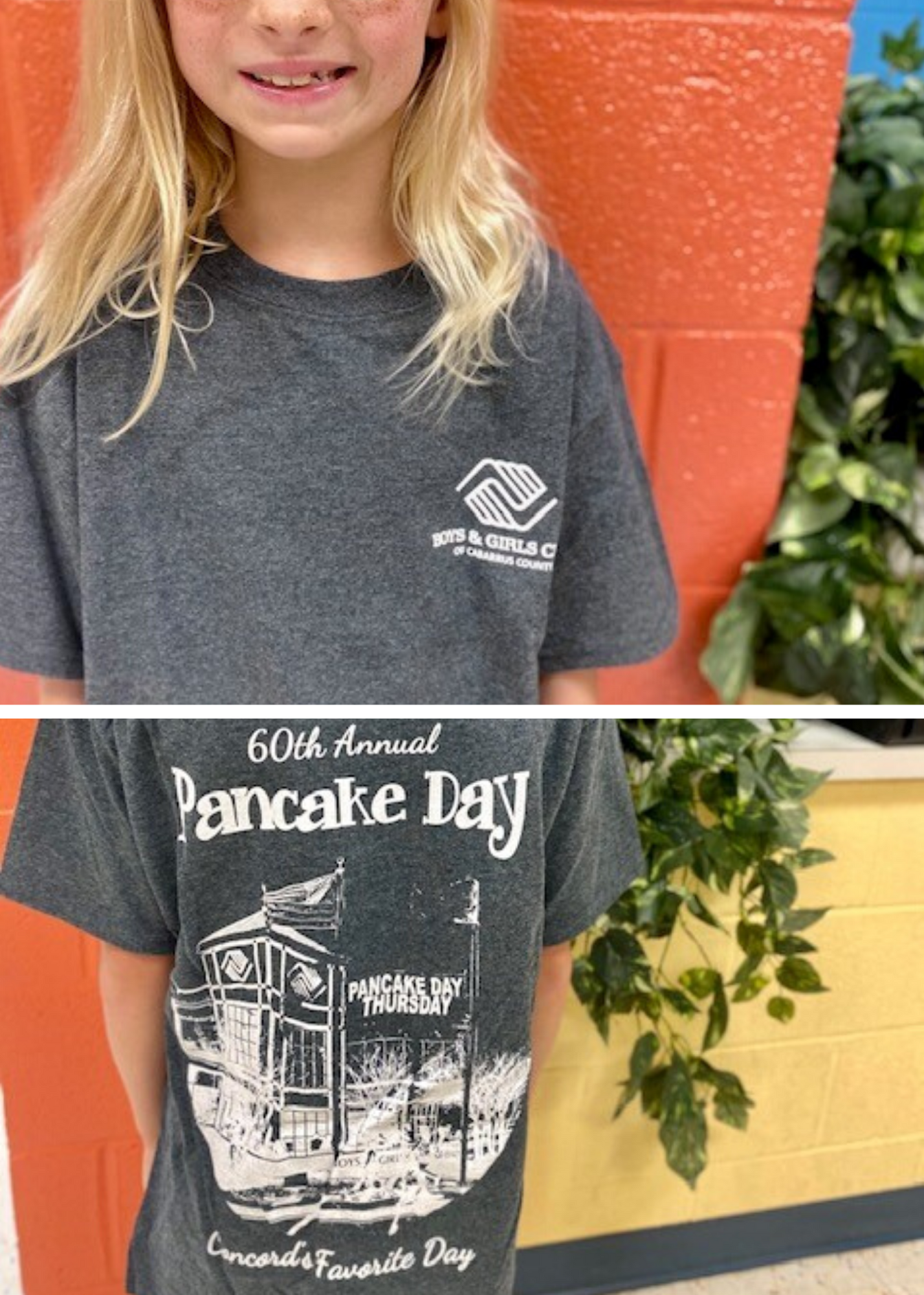 60th Anniversary Pancake Day Short Sleeve