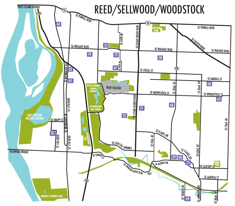 Reed / Sellwood / Woodstock