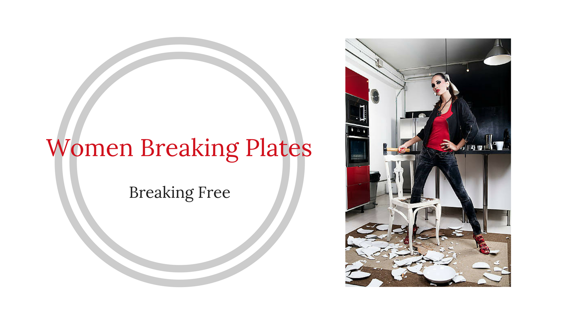 Women Breaking Plates
