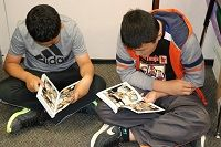 Graphic novels open world of literacy for Dakota Valley students