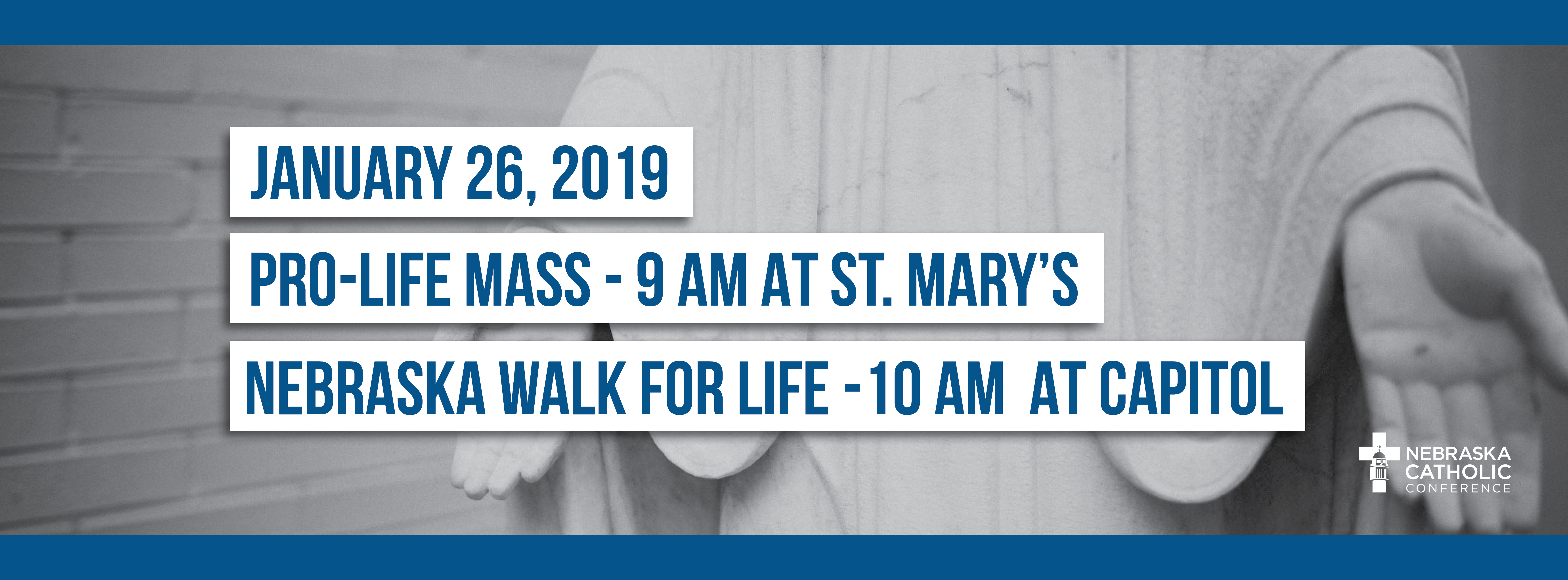 Join us for the Pro-Life Mass!