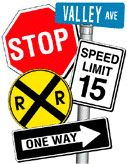 Traffic & Regulatory Signs