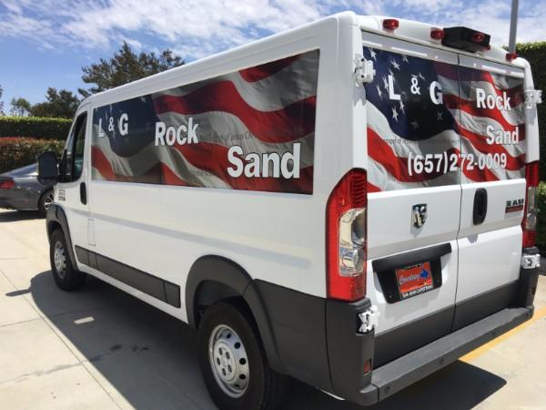 RAM Van graphics in Orange County CA