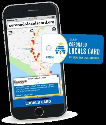 Coronado Locals Card