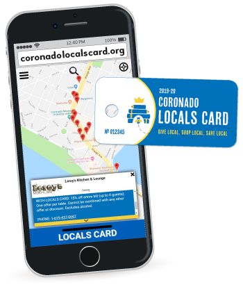 Coronado Locals Card Program