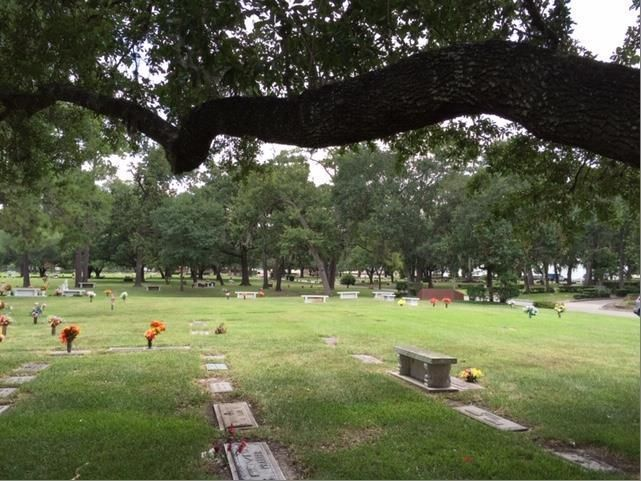For Sale: Cemetery Plots at Memorial Oaks Cemetery Benefiting Houston Audubon