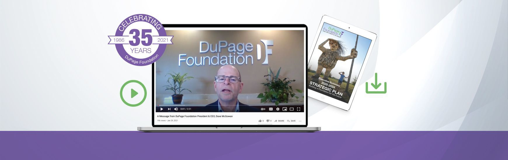 DuPage Foundation Milestones