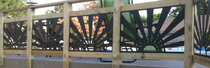 Deck Rail Insert Metalworks Metalworks Lincoln NE