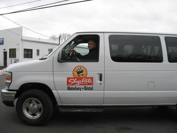 Ford Econoline Club Van, Door Lettering & Logo Graphics