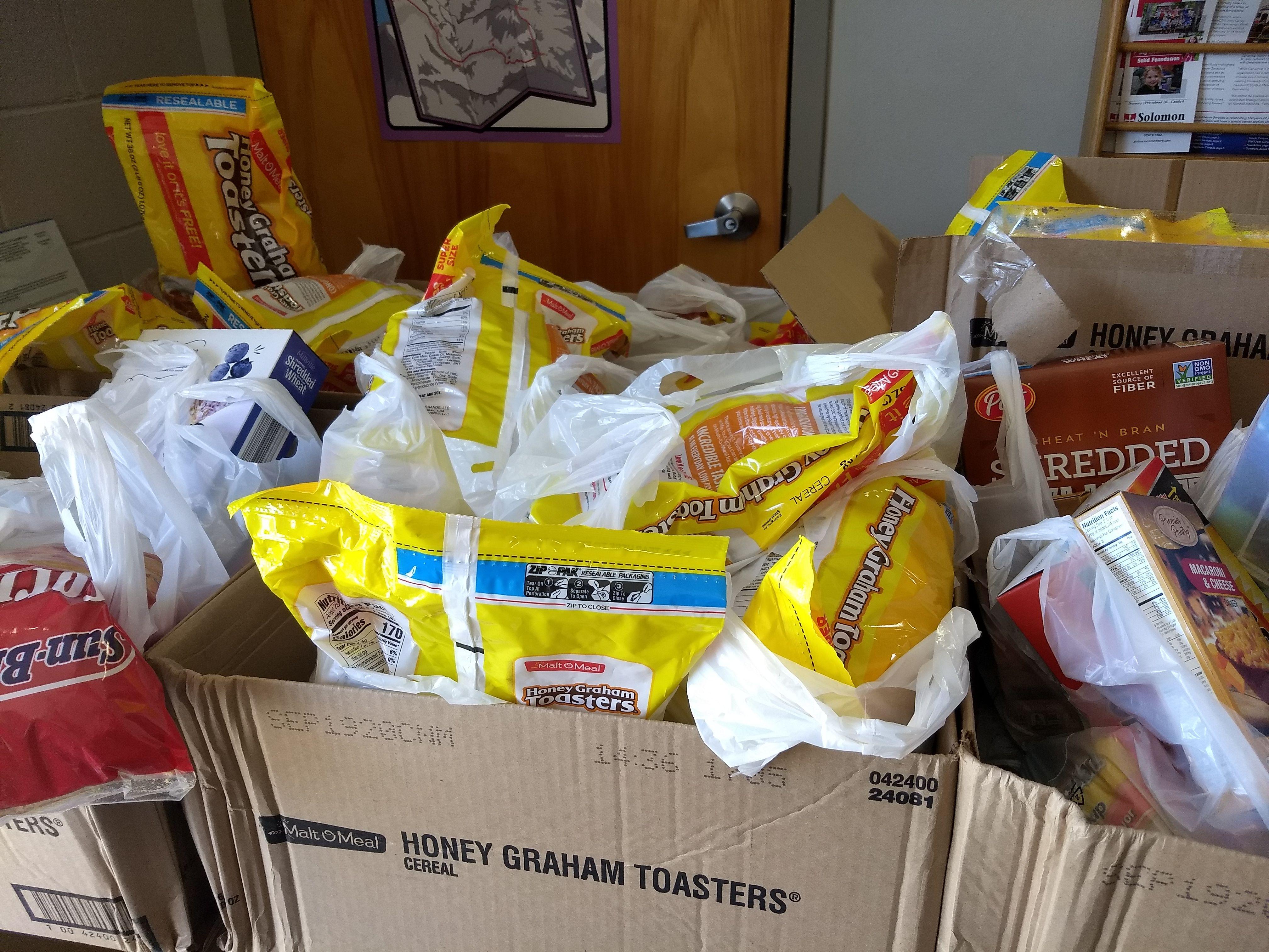 Supplemental Food Bags