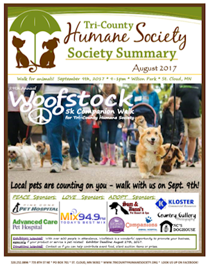 Newsletter - August 2017 (.pdf download)