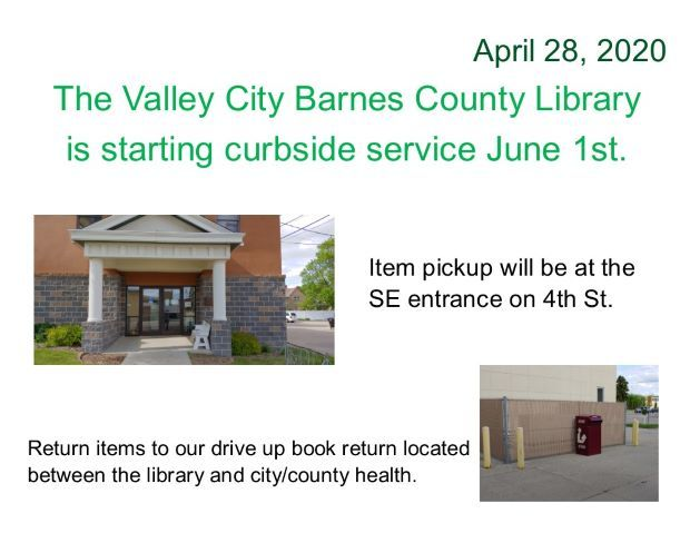 Closure update - curbside pickup to start June 1st.