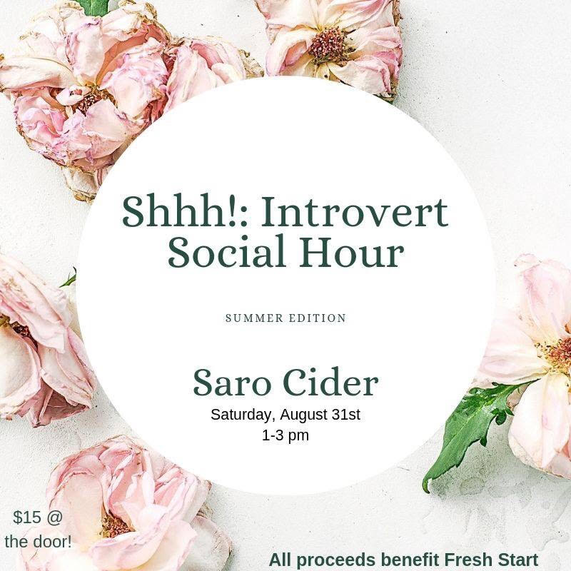 "Shhh! Introvert ""Social"" Hour Summer Edition 2019"