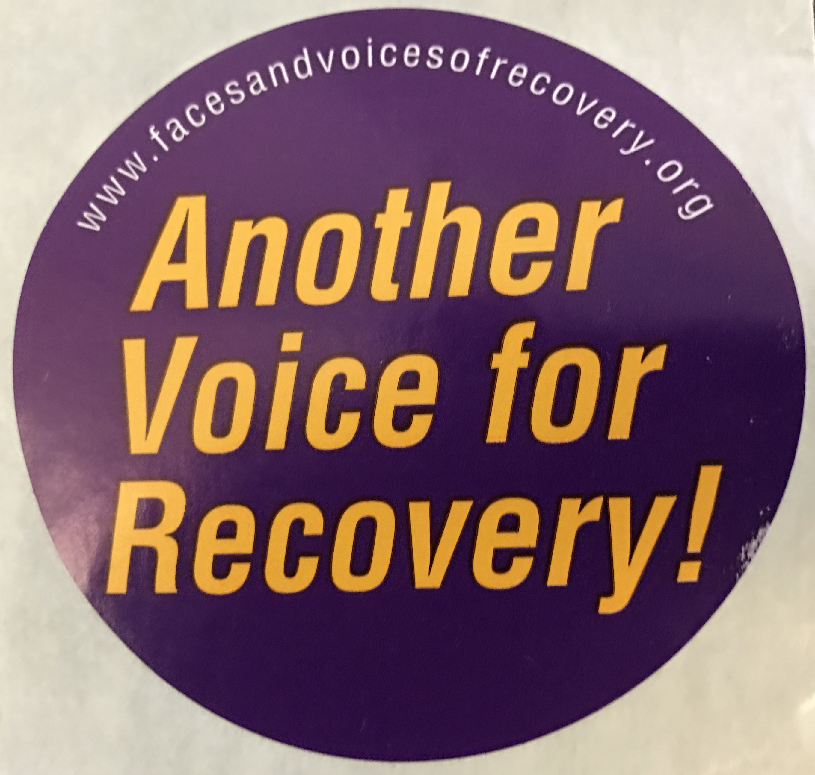 Another Voice for Recovery! Stickers (500 pack)