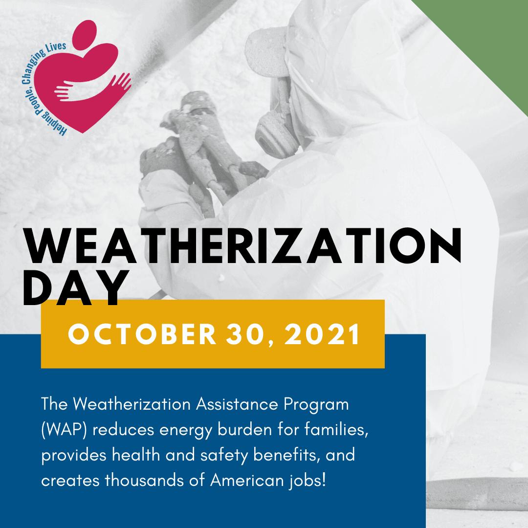 Weatherization Day 2021