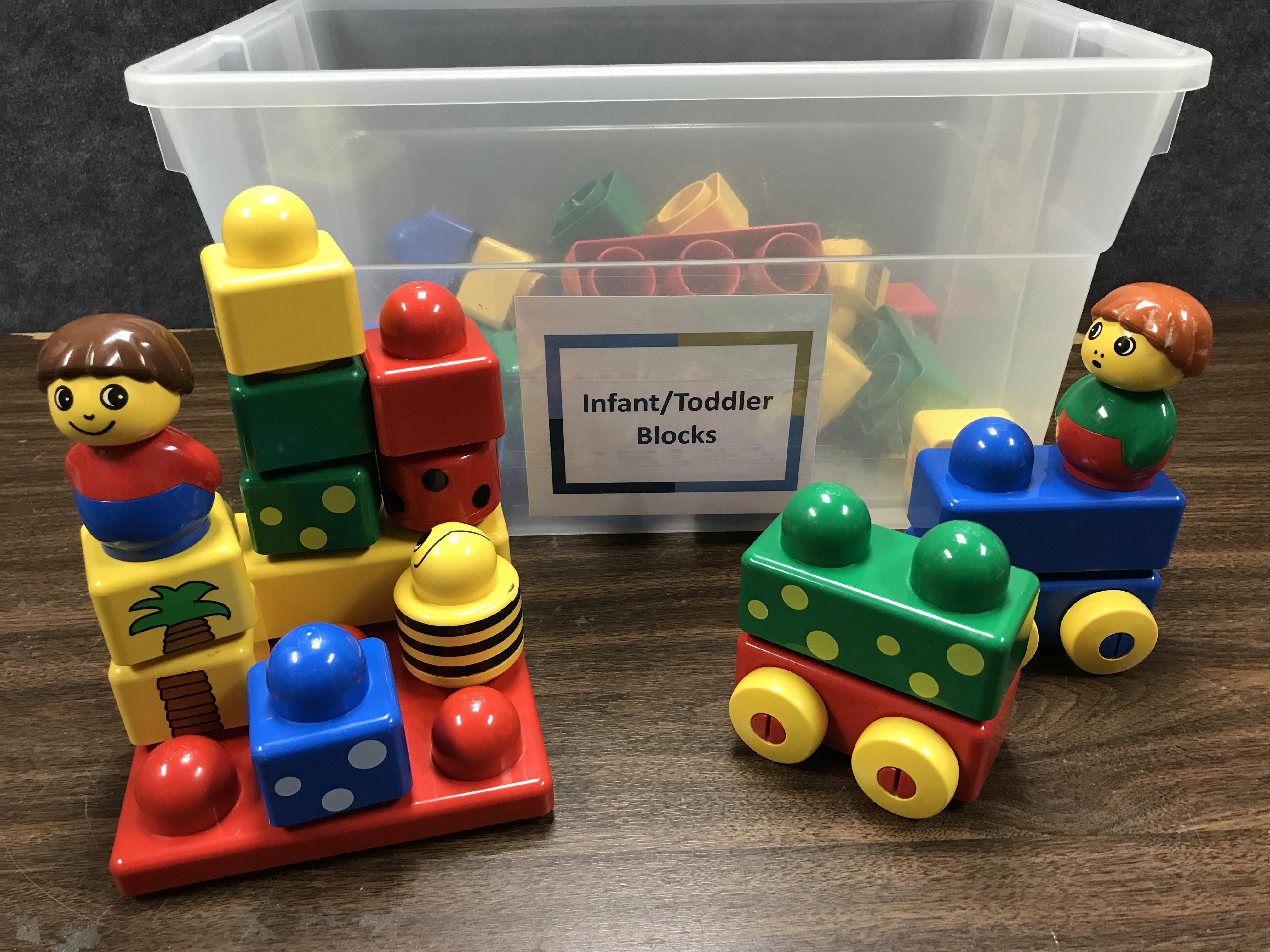 Infant/Toddler Blocks