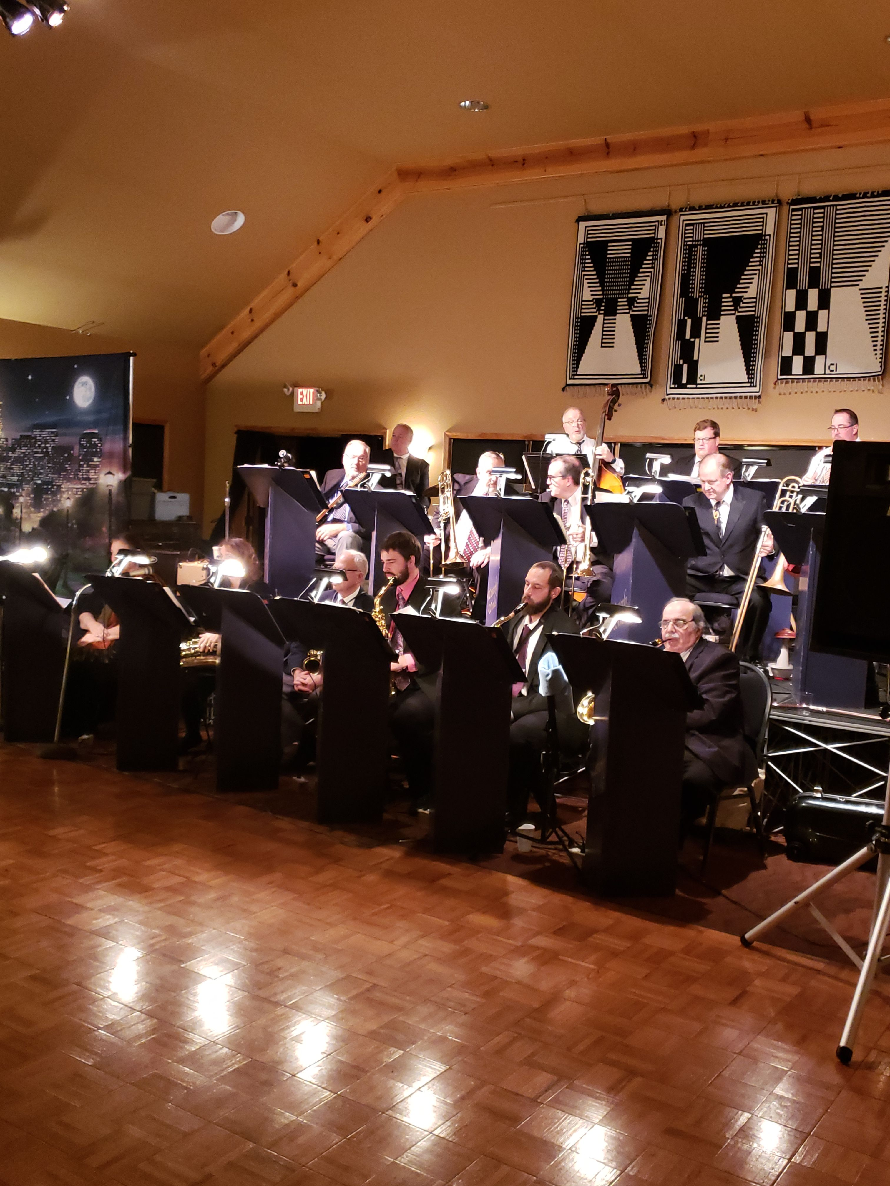 Under the Harvest Moon Dinner Dance featuring the Westerly Winds Big Band 2019