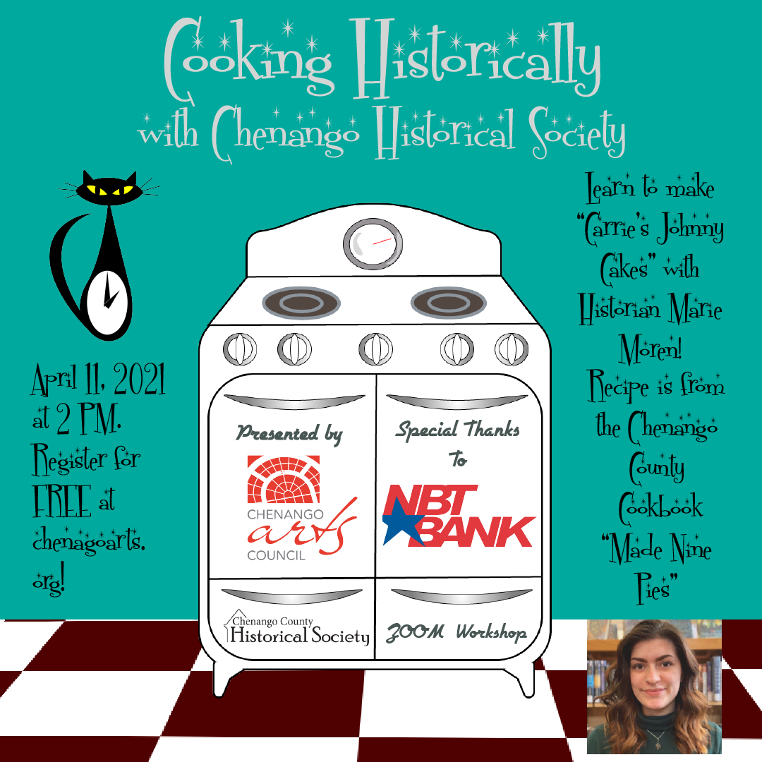Cooking Historically With Chenango Historical Society