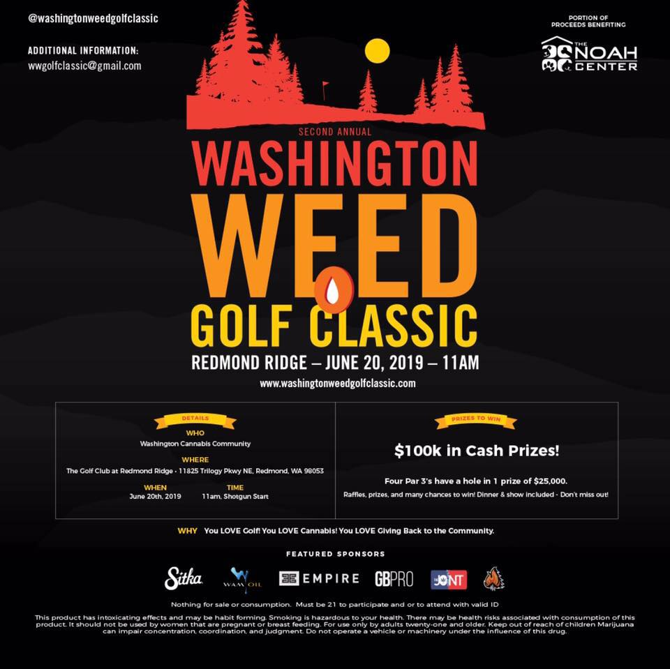 2nd Annual Washington Weed Golf Classic