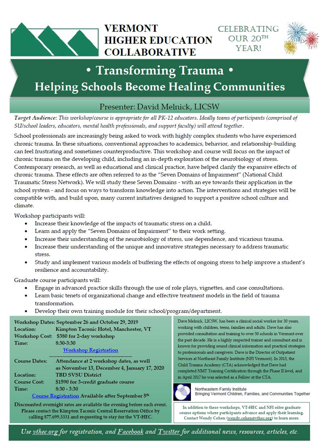 Transforming Trauma: Helping Schools Become Healing Communities