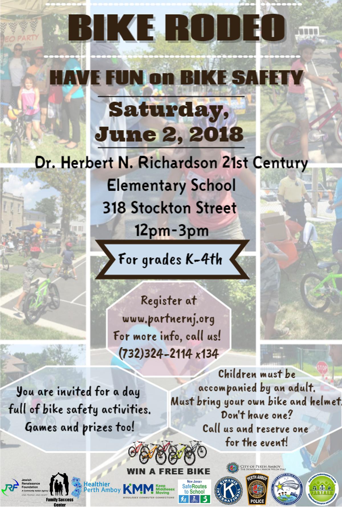 Bike Rodeo/evento de seguridad en bicicleta