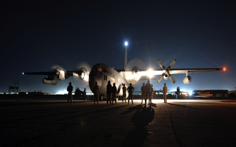 EC-130: The airplane created by US Air Force to hack enemy military networks.
