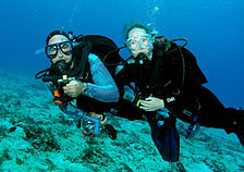 Rick & Carol Benson Scuba Diving