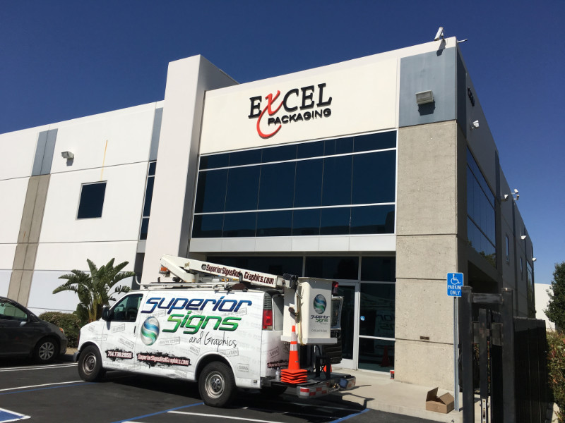 Where to find building sign installation in Orange County CA