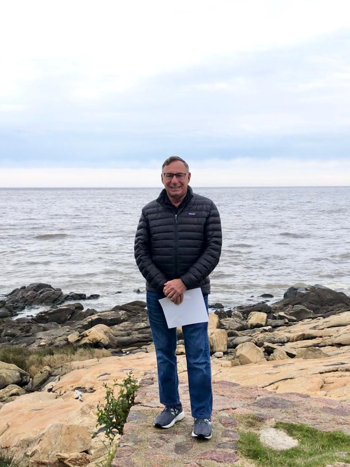Richard Levine by the Sea