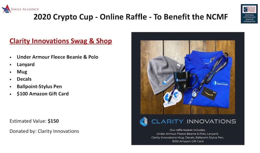 Clarity Innovations Swag Bag