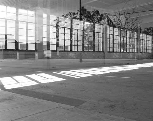 "Multiple Reflection, Black & white archival print, 16"" x 20"""