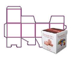 4 x 4 Cube or Candy Box