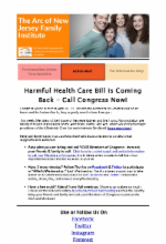 4.10.17 - Protect the Lifeline: Harmful Health Care Bill is Coming Back