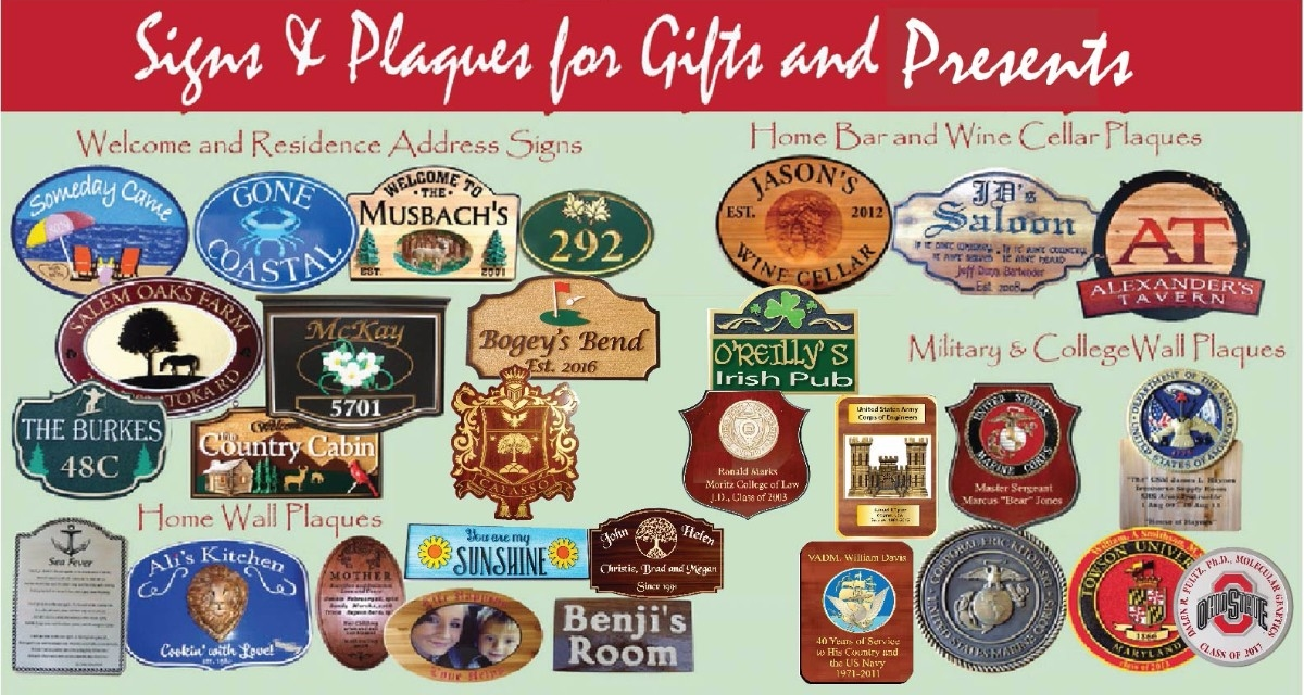 331404f907 Give a unique, personalized gift -a Custom Carved Wood Sign or Plaque