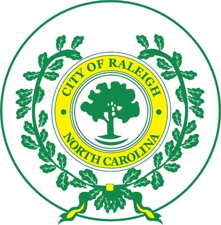 DP-1900 - Plaque of the Seal of the City of Raleigh, North Carolina,  Giclee