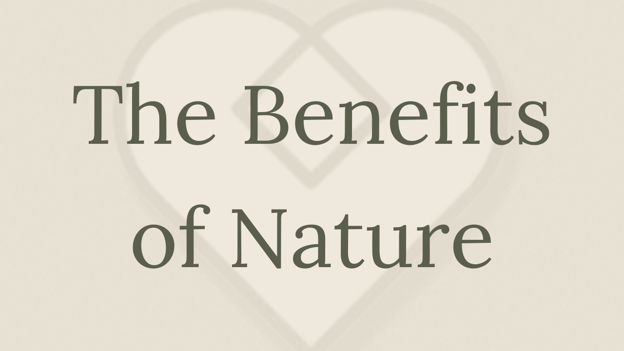 Mental Health Minute: The Benefits of Nature