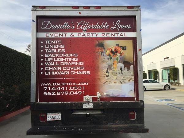 Box Truck Wraps in Orange County CA