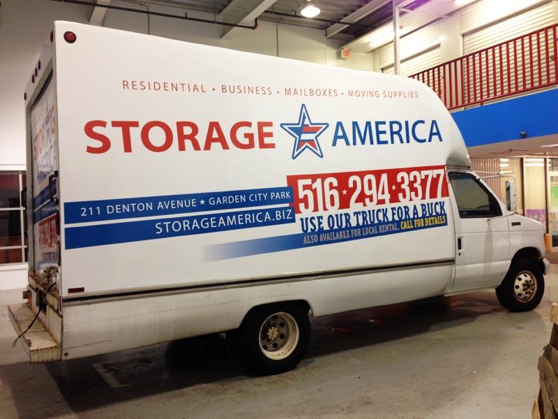 Storage America Side