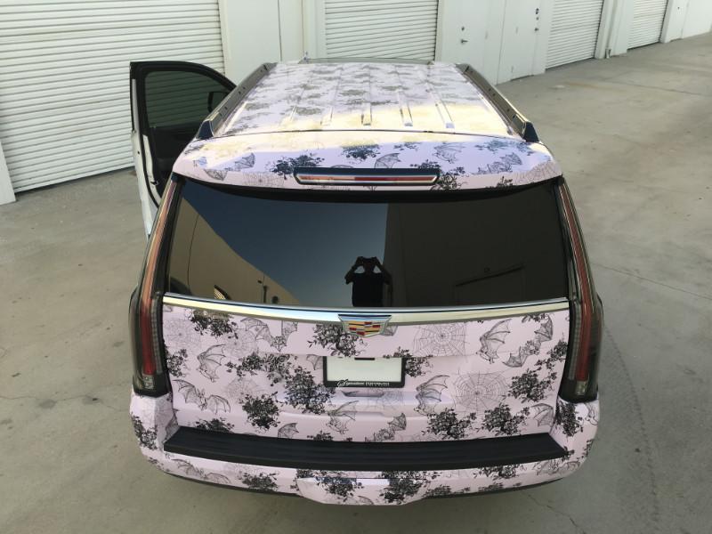 Custom SUV wraps in Buena Park CA