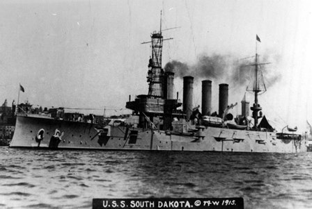May 2016 - Remembering the first U.S.S. South Dakota