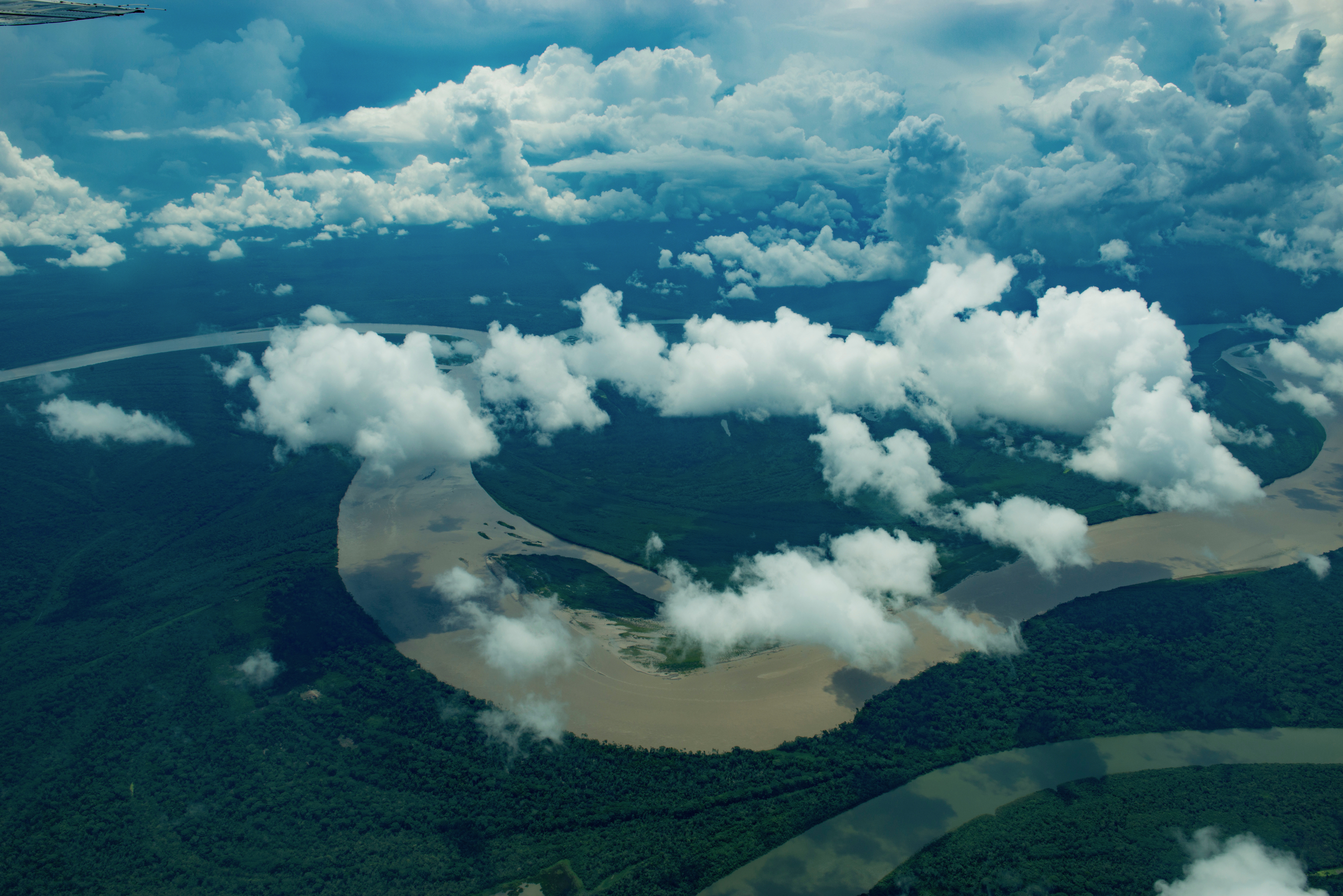 Above the Amazon