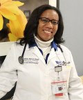 DR. VIRGINIA WRIGHT, CLASS OF '03: WORK AS PHYSICIAN AND MINISTER FEATURED IN NC NEWSPAPER