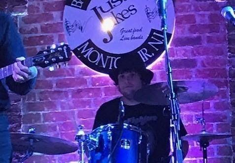 Drummer Andres Ortiz performs live at Just Jakes in Montclair, NJ.