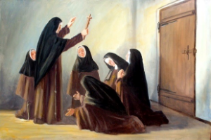 Blessing of the Pioneer Sisters to North America