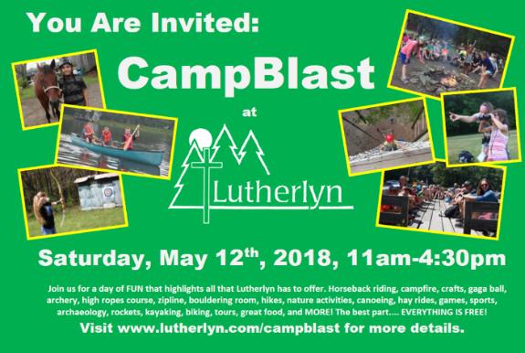 Camp Blast Post Top